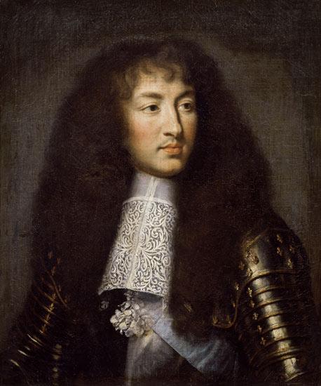 """Charles Le Brun, """"Ritratto di Luigi XIV"""", Chateau de Versailles"""