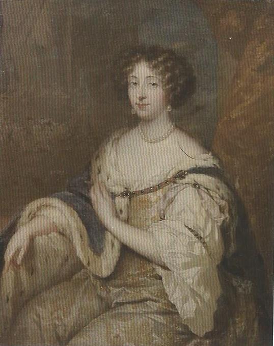 """Gaspar Netscher e bottega, """"Ritratto di Maria Mancini Colonna"""" (Galleria Colonna, Anticamere)"""