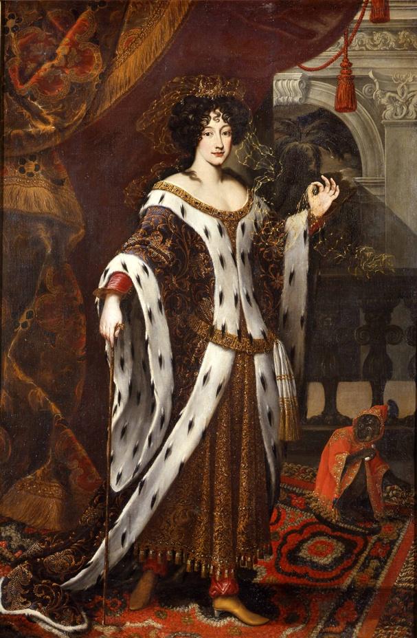 """Carlo Maratta, """"Ritratto di Maria Mancini Colonna come Armida"""", 1669 (Collezione Principi Colonna, Sala del Baldacchino - Appartamento Principessa Isabelle)"""