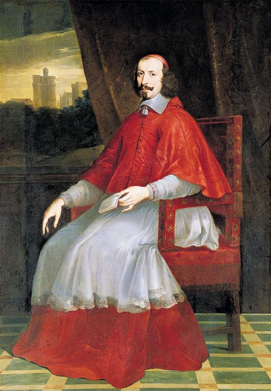 """Philippe de Champaigne, """"Ritratto del cardinale Mazzarino"""", Chantilly, Musée Condé"""