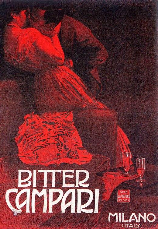 M. Dudovich, Bitter Campari, 1901 ca. Manifesto litografico (stampa Chappuis, Bologna). 140 x 100 cm. Archivio Davide Campari, S.p.A., Milano