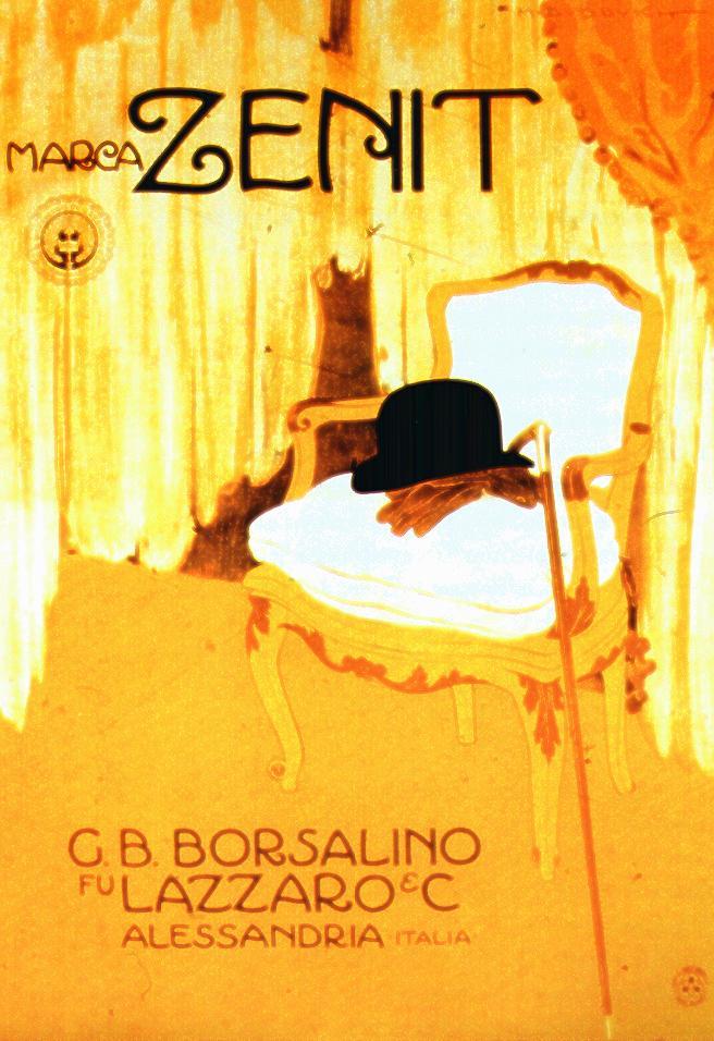 M. Dudovich, G.B Borsalino- Marca Zenit, 1911, Manifesto litografico (stampa Ricordi, Milano) 205x145 cm. Raccolta Salce, Museo Civico Bailo, Treviso