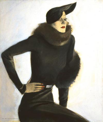 M. Dudovich, Eleganza, 1935. Tempera su legno, 100 x 86 cm. Civico Museo Revoltella, Trieste